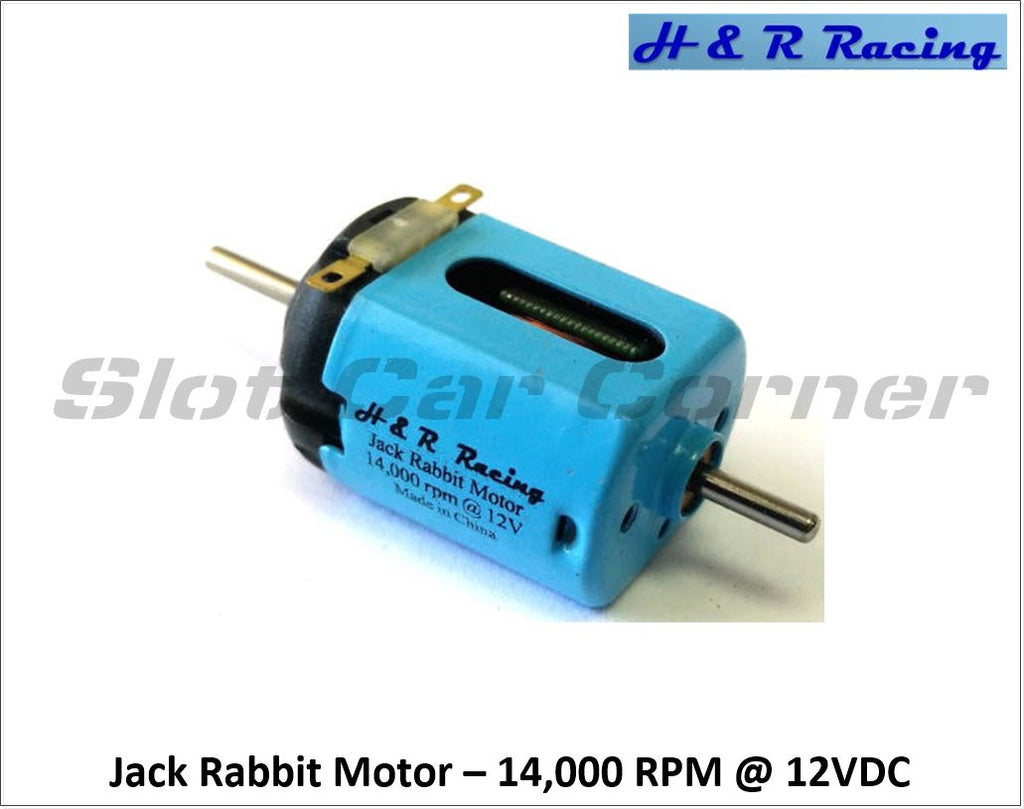 HRMC1 H&R Racing 14,000 RPM Jack Rabbit Motor, Short-Can