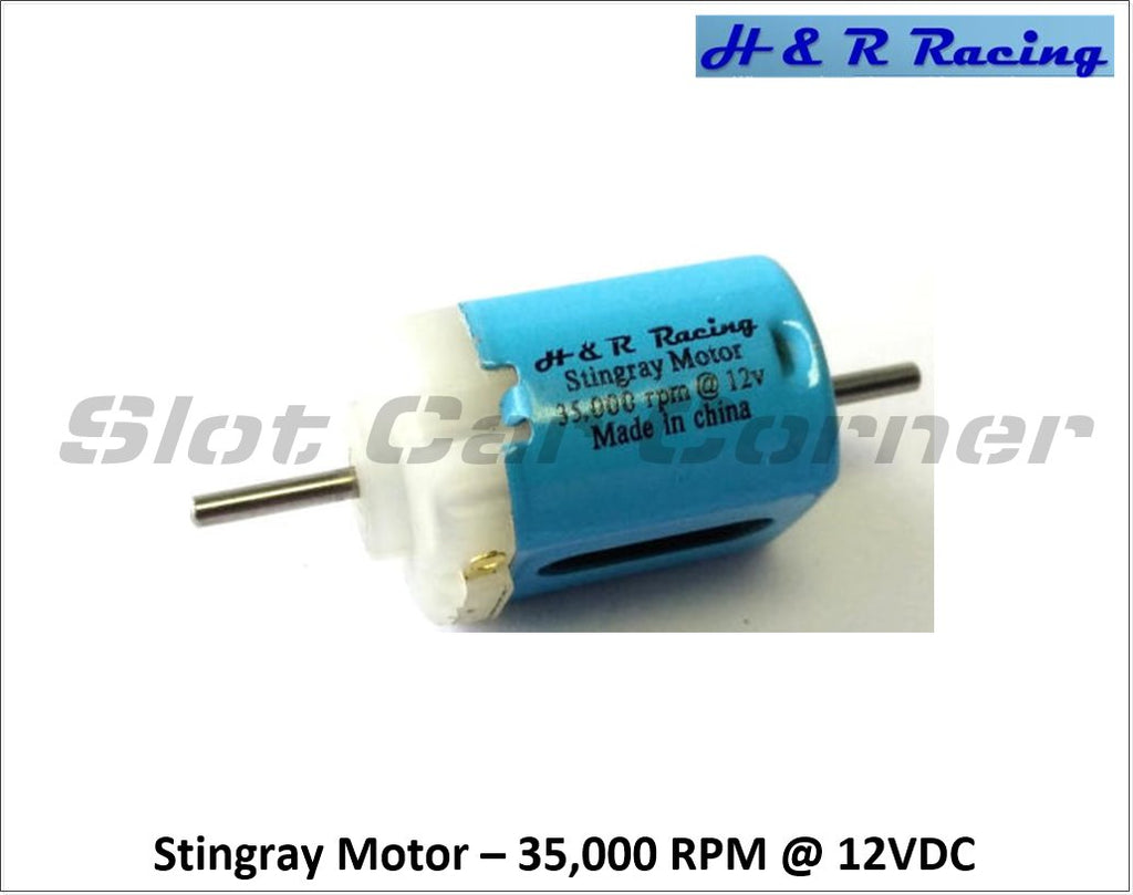 HRMS1 H&R Racing 35,000 RPM Stingray Motor, Short-Can