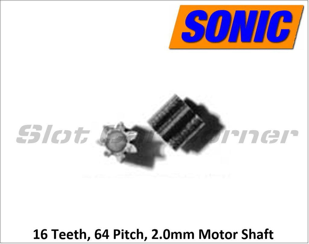 30-16 Sonic 16T Pinion (64 Pitch)