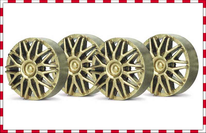 SIPA03G Slot.It Wheel Inserts, 15mm BBS Style, Gold