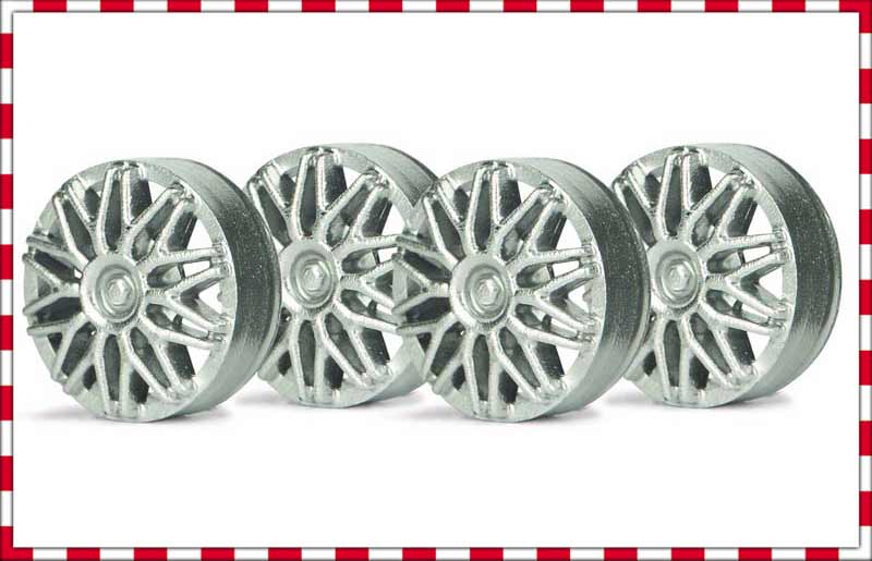 SIPA03S Slot.It Wheel Inserts, 15mm BBS Style, Silver
