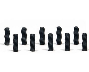 SIPA37 Slot.It M2 x 6mm Set Screws, Cup Point, Black