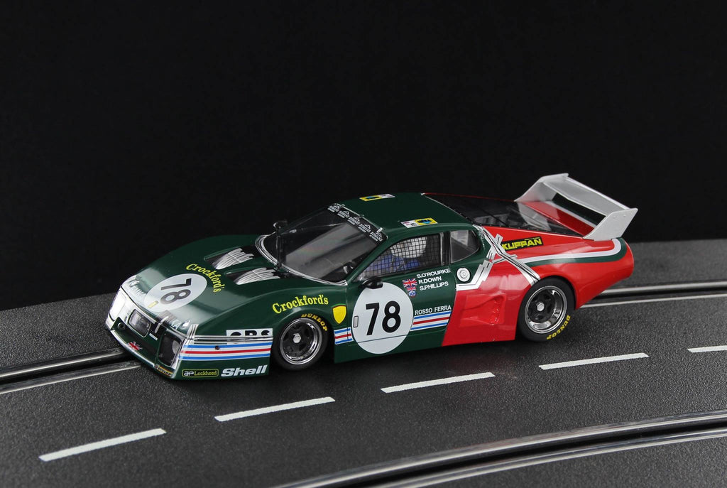 SW51B Sideways Ferrari 512BB Group 5 End of Race No. 78, Limited Edition