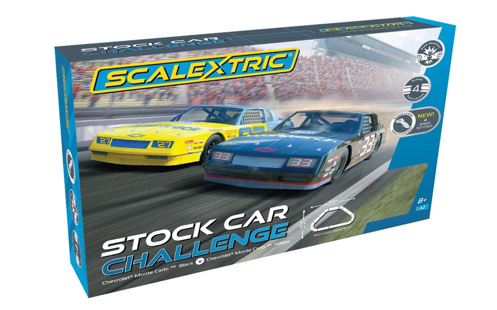 C1383T Scalextric Stock Car Challenge Race Set