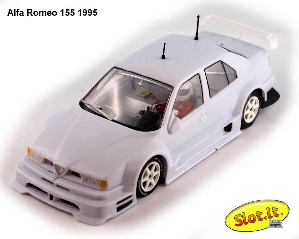 SICA40Z Slot.It Alfa Romeo 155 V6 TI WHITE KIT (1995)