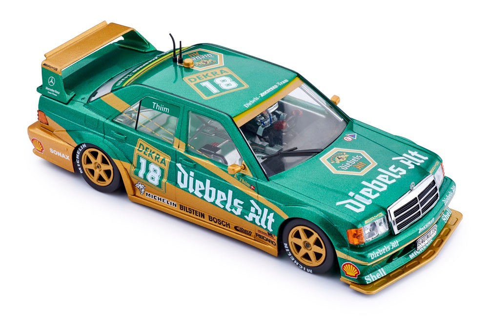 SICA44A Slot.It Mercedes 190e DTM Diebels Alt No. 18