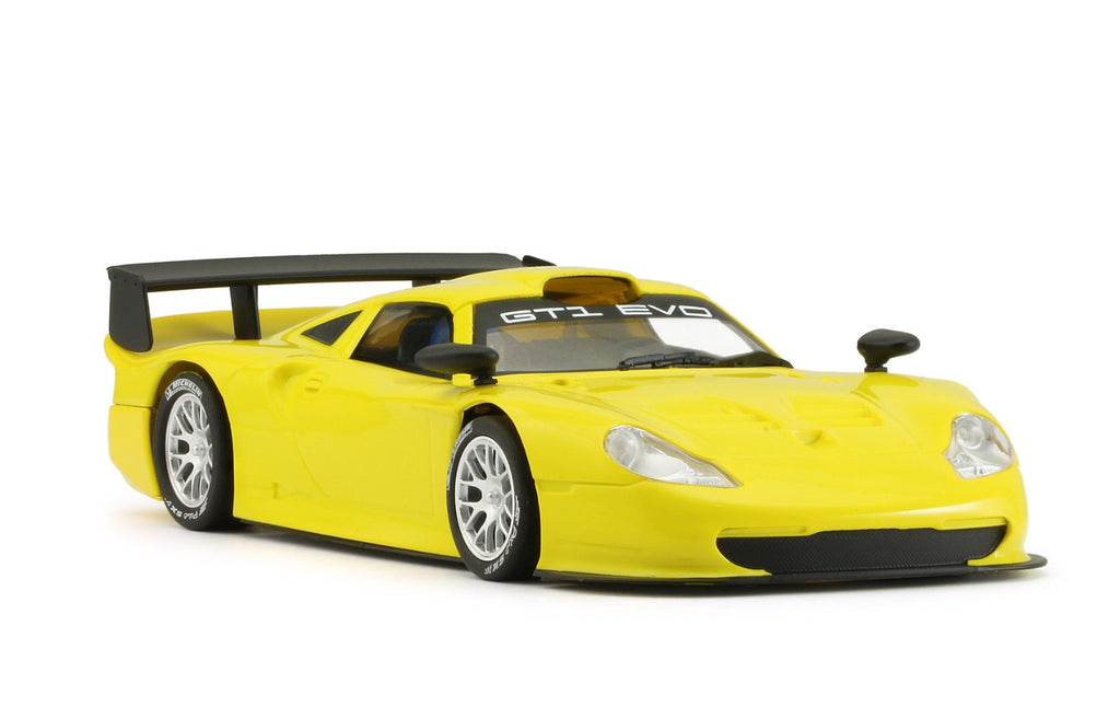 MR1025AY MRSLOTCAR Porsche 911 GT1 EVO, Yellow