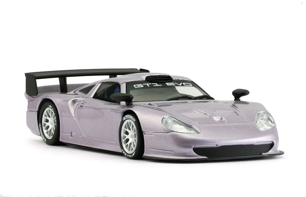 MR1025AP MRSLOTCAR Porsche 911 GT1 EVO, Purple