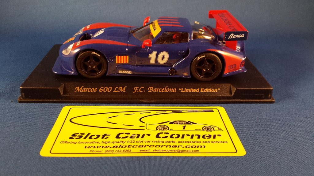 E28 FLY Marcos LM600 Barcelona No. 10, Limited Edition