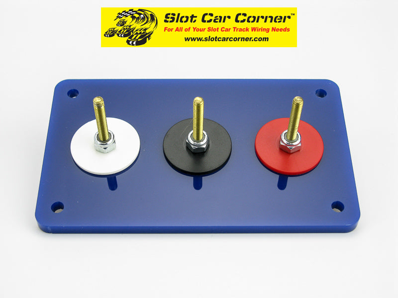 SCC 3-Post (Alligator Clip) Driver Station Kit, Blue