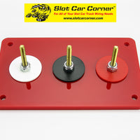 SCC 3-Post (Alligator Clip) Driver Station Kit, Red