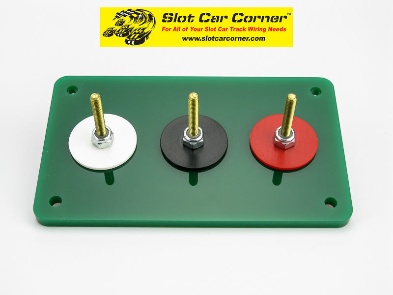 SCC 3-Post (Alligator Clip) Driver Station Kit, Green