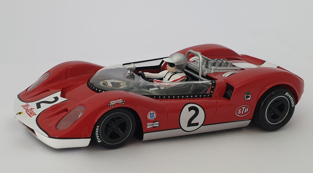 CA00402S/W Thunder Slot McLaren ELVA MK I Can-Am No. 2