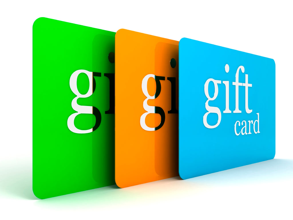 Select your Gift Card My Shop
