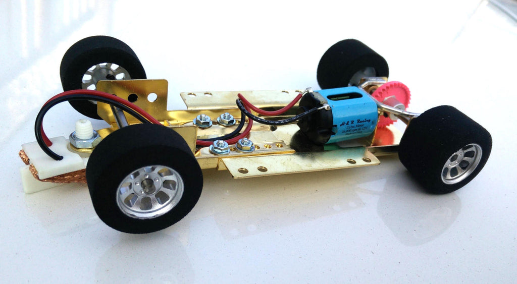 HRCH07 H&R Racing 1:24 Adjustable Rolling Chassis