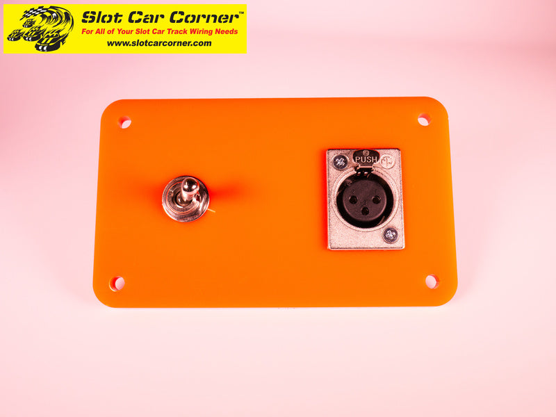 SCC XLR + Lane Reverse Switch Driver Station Kit, Orange