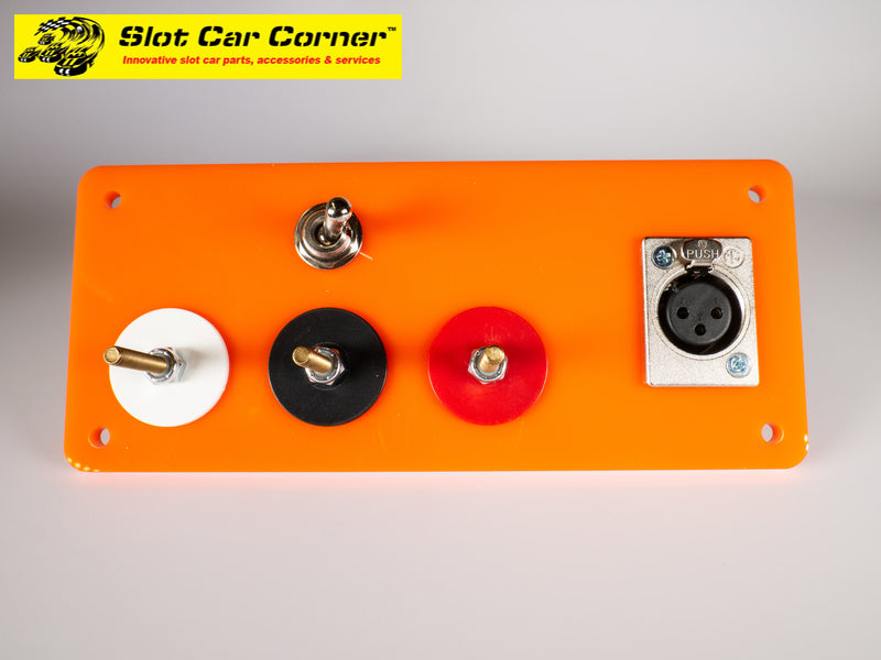 SCC XLR and 3-Post Hookups Driver Station With Lane Reverse Switch Kit, Orange