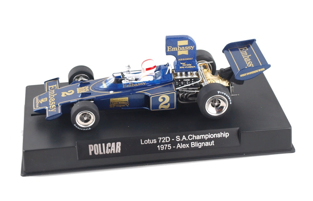 PCAR02F Policar Lotus 72D, Embassy No. 2