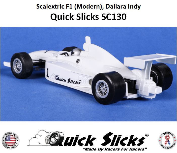 SC130F Quick Slicks Silicone Tires, Firm