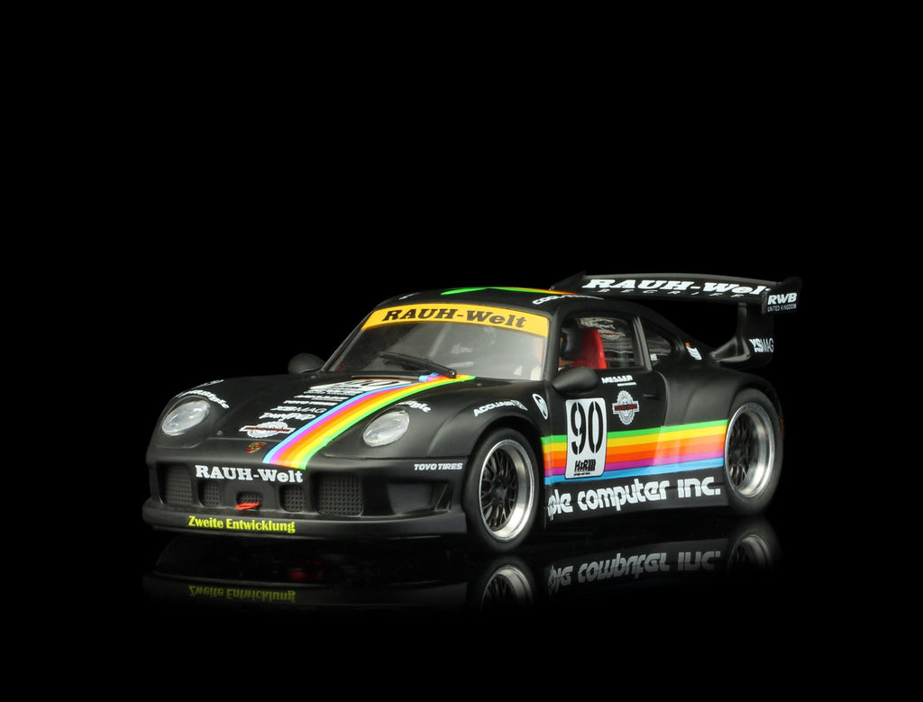 RS0049 RevoSlot Porsche 911 GT2, Apple Black No. 90