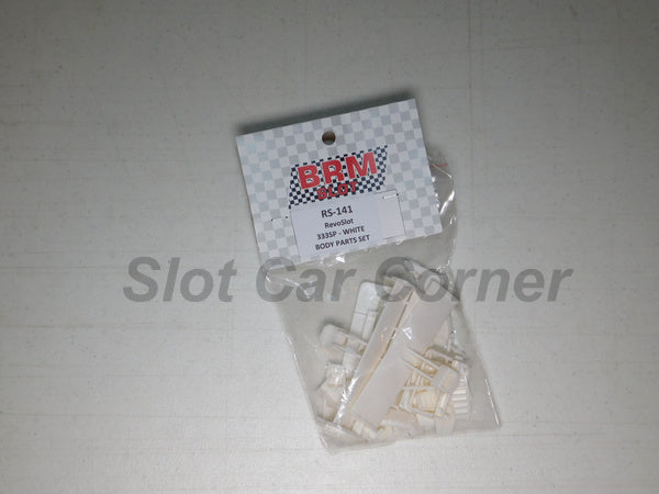 RS-141 RevoSlot Ferrari 333 SP White Body Parts