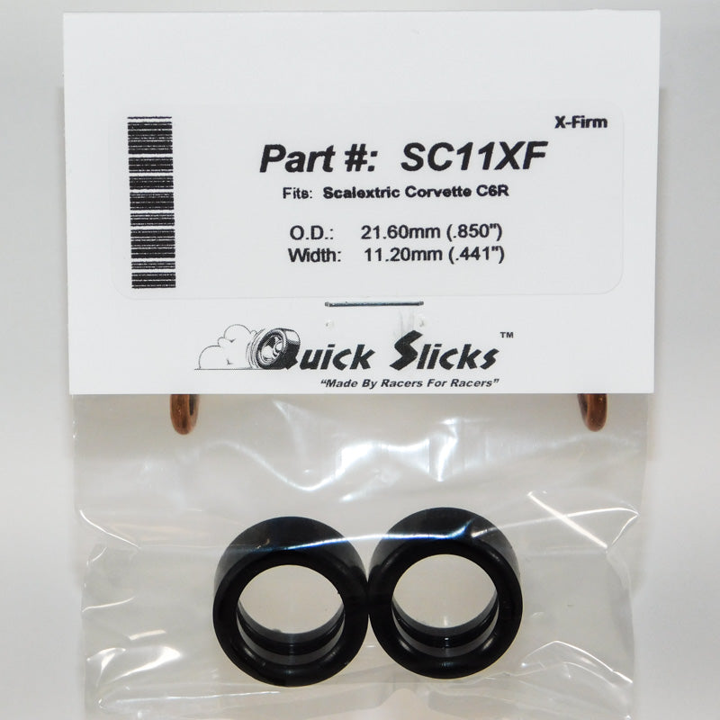 SC11XF Quick Slicks Silicone Tires, X-Firm