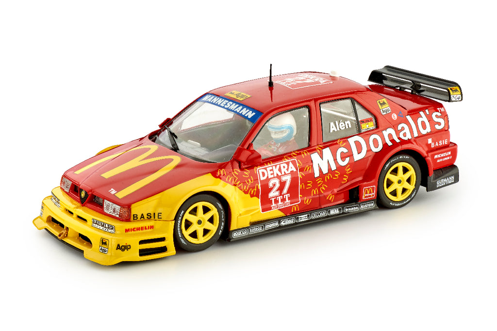 SICA40B Slot.It Alfa Romeo 155 V6 TI McDonalds No. 27