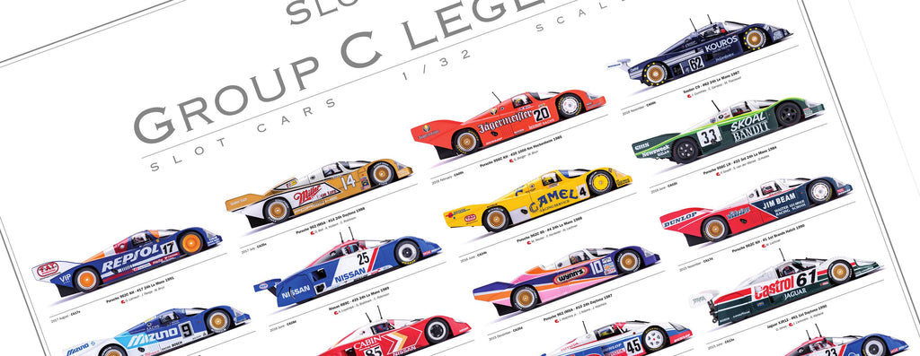 SIPGRC-2 Slot.It Group C poster (2011 - 2017) - LIMITED EDITION (Unsigned)