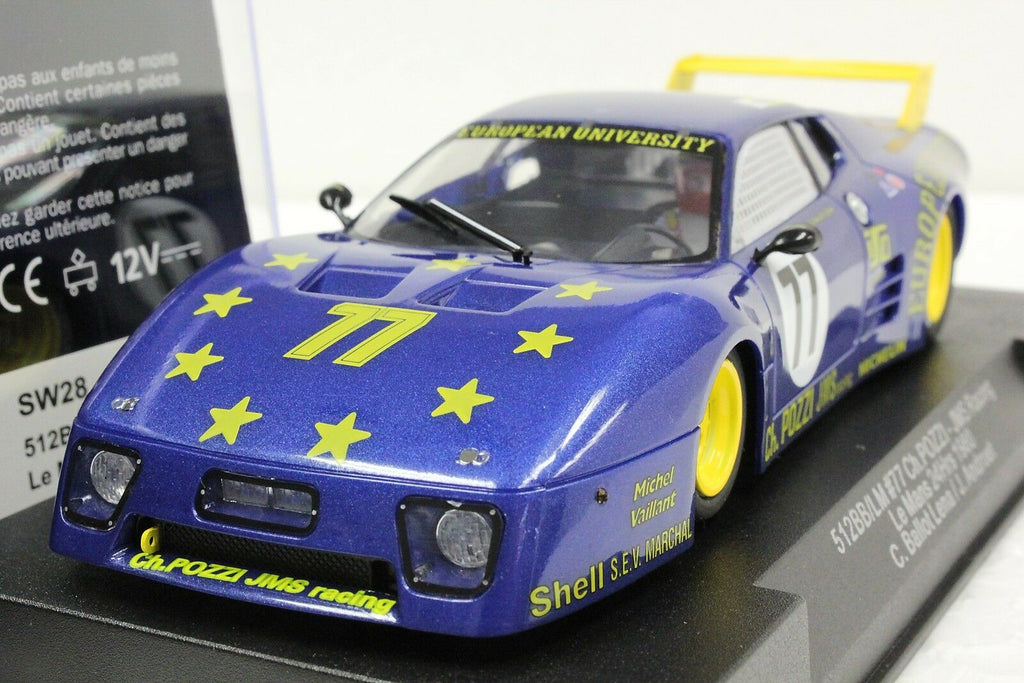 SW28 Sideways Ferrari 512BB / LM Group 5 Le Mans No. 77