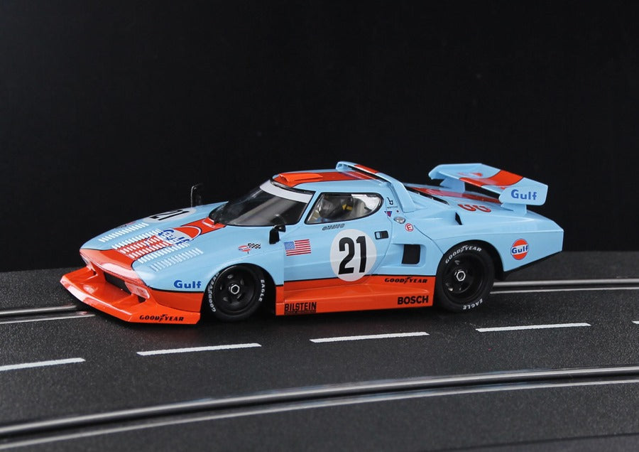 SWHC07A Sideways Lancia Stratos Gr. 5 Gulf Racing Historical Colors No. 21, LIMITED EDITION