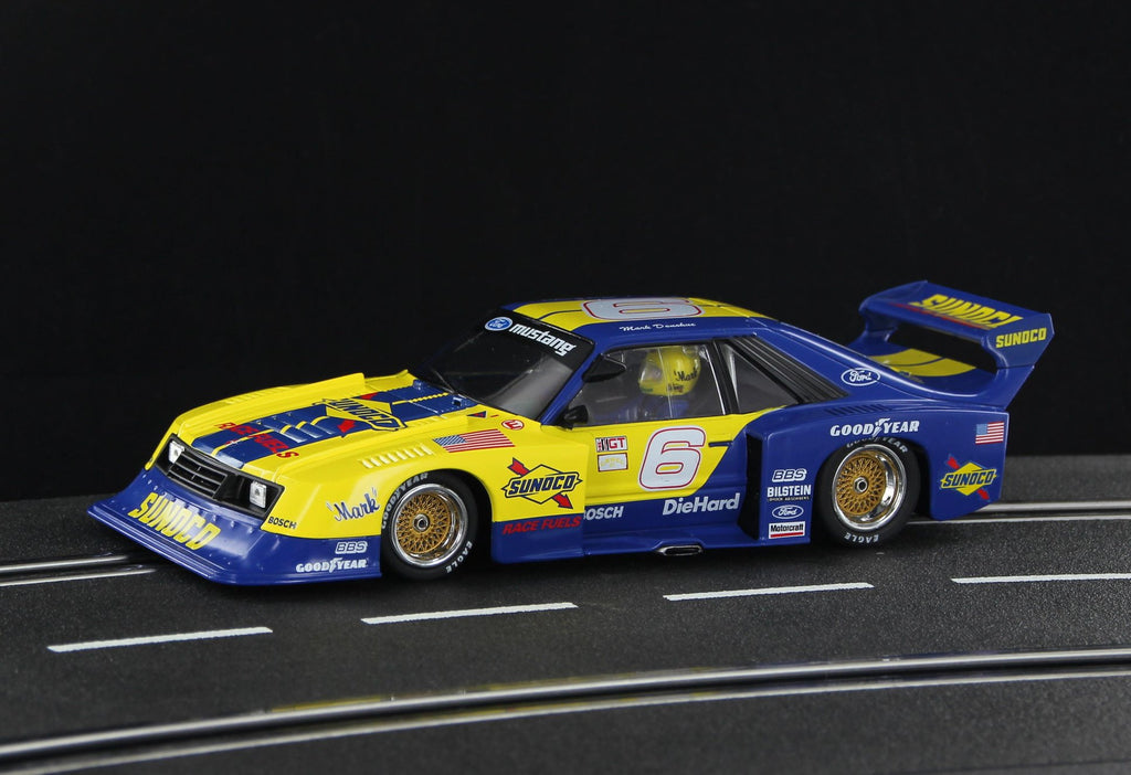 SWHC08 Sideways Mustang Turbo Sunoco Mark Donahue Tribute LIMITED EDITION No. 6