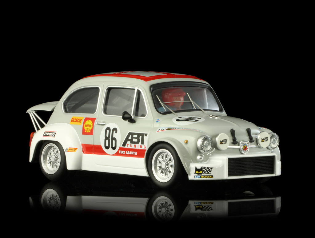 TTS012 TTS 1:24 Fiat Abarth 1000 ABT Team No. 86