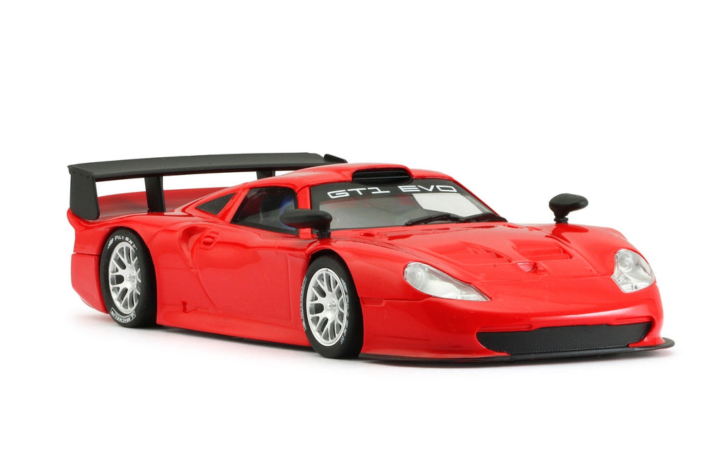 MR1025AR MRSLOTCAR Porsche 911 GT1 EVO, Red