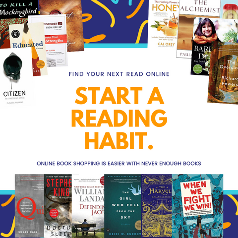 Start A Reading Habit With Never Enough Books