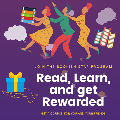 Read, Learn, Share, and Get Reward with Bookish Rewards