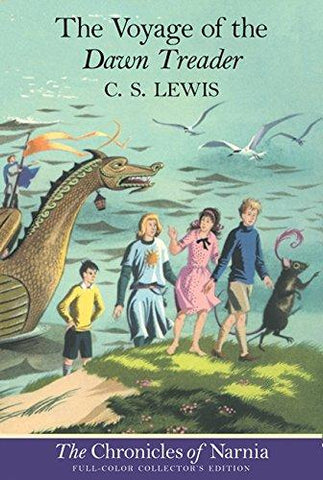 The Voyage of the Dawn Treader (The Chronicles of Narnia, Book 5, Full-Color Collector's Edition): C. S. Lewis, Pauline Baynes: 9780064409469: Books