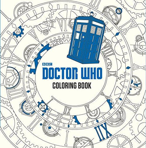 Doctor Who Coloring Book: James Newman Gray, Lee Teng Chew, Jan Smith: 9780399542299: Books