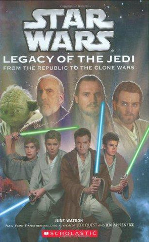 Star Wars: Legacy of the Jedi #1: Jude Watson, David Mattingly: 9780439536660: Books