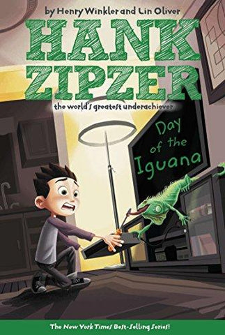 Day of the Iguana (Hank Zipzer: The World's Greatest Underachiever #3): Henry Winkler, Lin Oliver, Tim Heitz: 9780448432120: Books