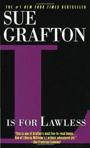 L Is for Lawless (Kinsey Millhone Mysteries): Sue Grafton: 9780449221495: Books