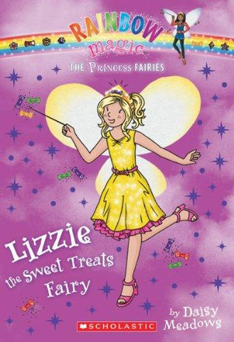 Princess Fairies #5: Lizzie the Sweet Treats Fairy: A Rainbow Magic Book: Daisy Meadows: 9780545433945: Books
