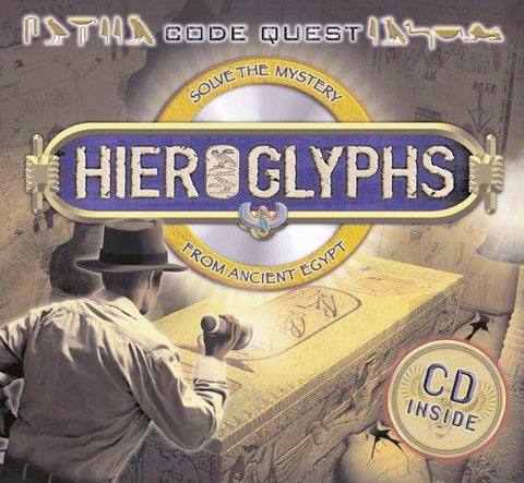 Code Quest: Hieroglyphs - Solve the Mystery from Ancient Egypt: Sean Callery: 9780753464113: Books