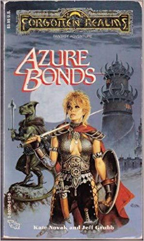 Azure Bonds (Forgotten Realms): Jeff Grubb, Kate Novak: 9780880386128: Books