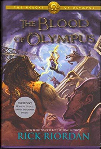 The Blood of Olympus B & N Special Edition: Rick Riordan: 9781484724934: Books