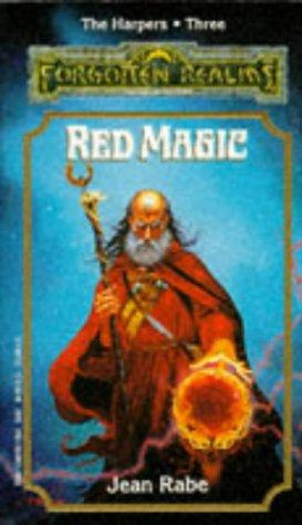 Red Magic (Forgotten Realms: The Harpers, Book 3): Jean Rabe: 9781560761181: Books