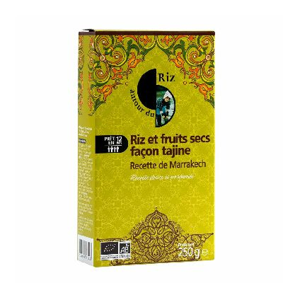 Riz Fruits Sec Tajine 250G