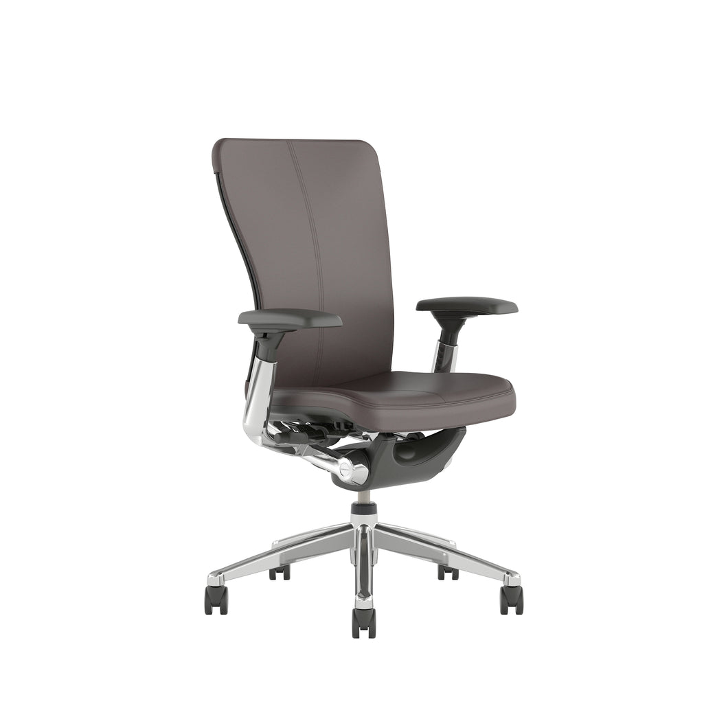 Zody Leather Office Chair with 4D Arms