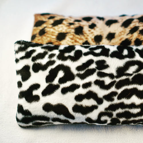 Recycled Animal Print Yoga Eye Bag