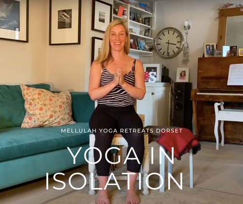 Yoga in Isolation Part 2 - Chair Yoga