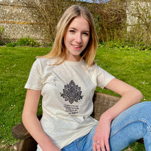 Load image into Gallery viewer, Hemp Eco Printed T-Shirt Lotus Leaf